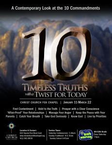 10 Sermon Series
